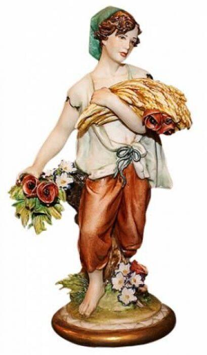 "Скульптура  Porcellane Principe ""Лето"" - 0"