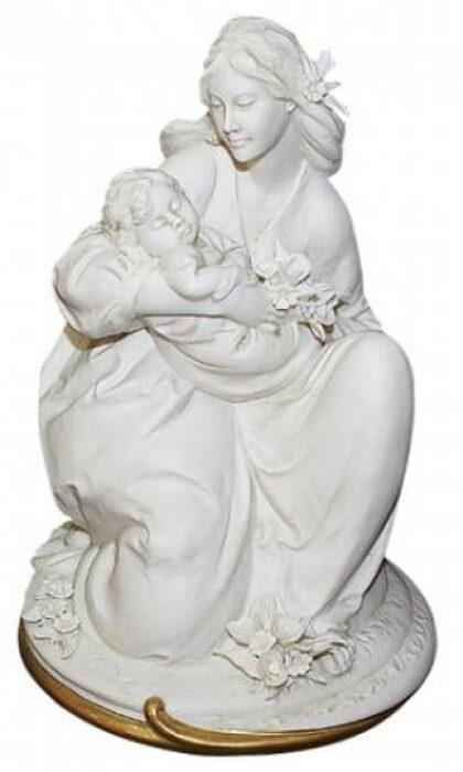 """Статуэтка  Porcellane Principe """"Материнство""""  цвет: белый- 0"""