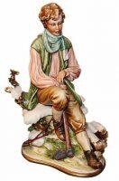 """Статуэтка  Porcellane Principe """"Зима"""" . Стильный подарок"""