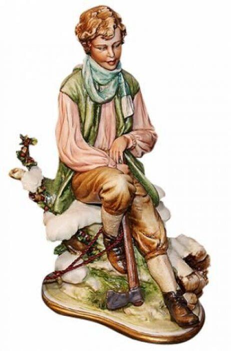 """Статуэтка  Porcellane Principe """"Зима"""" . Стильный подарок- 0"""