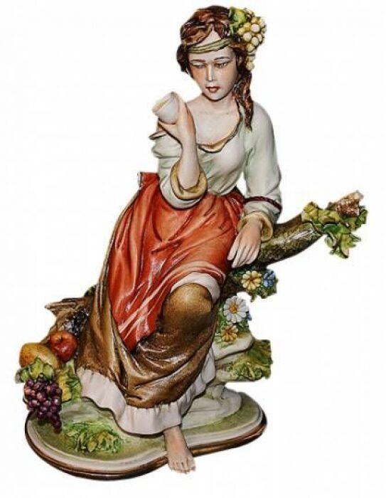 """Статуэтка  Porcellane Principe """"Осень"""" . Стильный подарок- 0"""