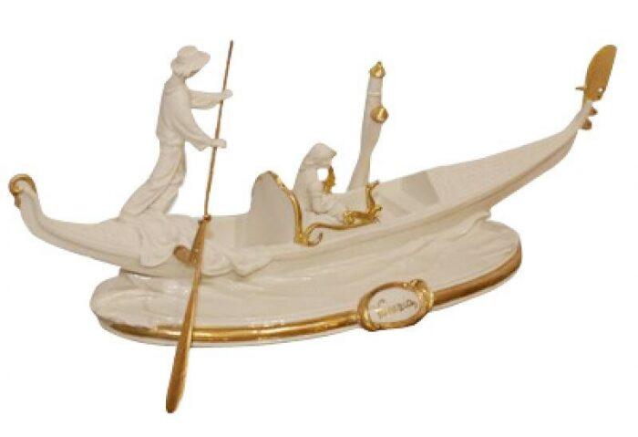"""Статуэтка  Porcellane Principe """"Венецианская гондола"""" - 0"""