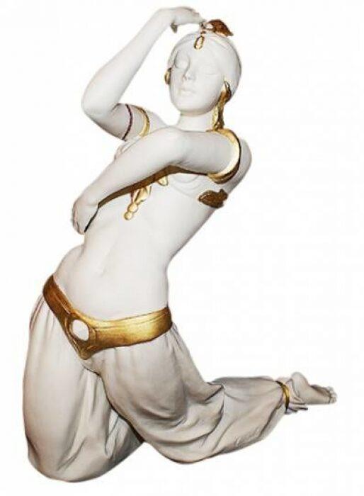 "Статуэтка  Porcellane Principe ""Турчанка в танце"" , цвет: белый- 0"