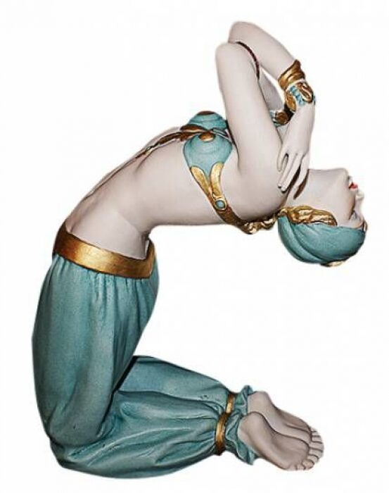 """Статуэтка  Porcellane Principe """"Турчанка в танце"""" , цвет: разноцветный- 0"""