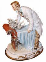 """Скульптура  Tiche """"Ветеринар"""" , цвет: разноцветный"""