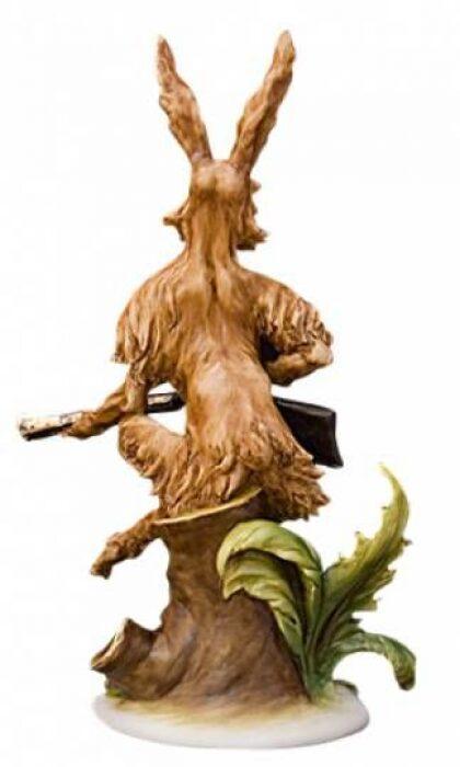 """Скульптура  Tiche """"Заяц на охоте"""" - 1"""