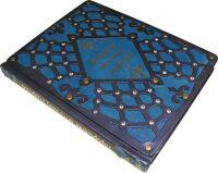"""Книга в кожаном переплете """"Афоризмы античных мудрецов"""" Gothik blue"""