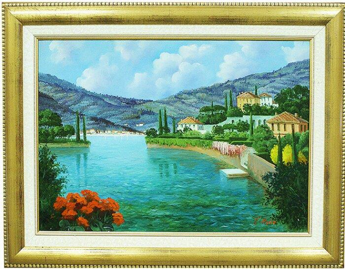 """Картина  Art Atelier """"Предгорное озеро""""- 0"""