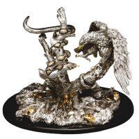 """Скульптура  Gold Line """"Орел со змеей"""""""