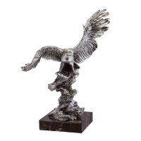 """Скульптура  Anglada """"Орел""""  с посеребрением"""