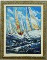 """Картина  Art Atelier """"Морские паруса""""- 0"""