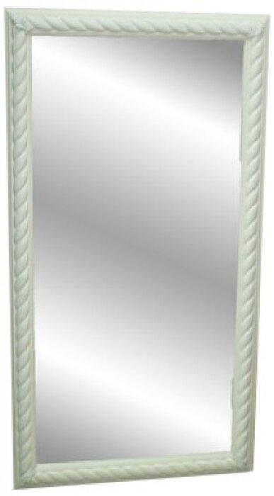 Зеркало в рамке белого цвета Bertozzi Cornici- 0