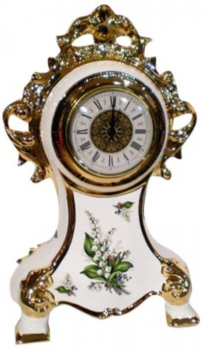 Часы белые с ландышами Bruno Costenaro- 0