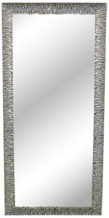 Зеркало с волнистой рамкой серебряного цвета Bertozzi Cornici- 0