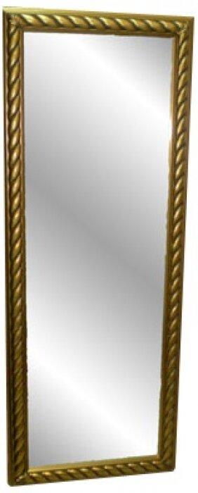 Зеркало в деревянной рамке золотого цвета Bertozzi Cornici- 0