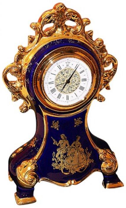 Часы синие с узорами Bruno Costenaro- 0