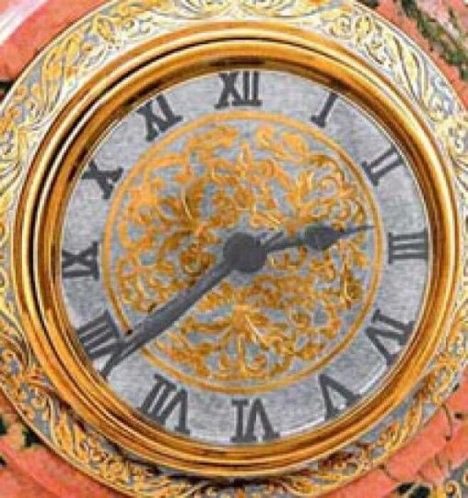 Каминные часы (радонит)- 2