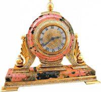 Каминные часы (радонит)