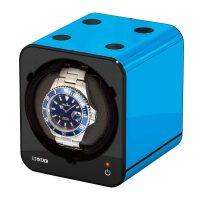 Шкатулка часов с автоподзаводом FANCY BRICK Blue Boxy