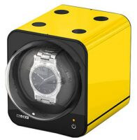 Шкатулка часов с автоподзаводом FANCY BRICK Yellow Boxy