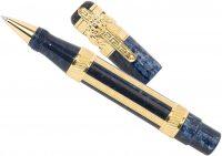 "Ручка-роллер  Ancora ""Средиземноморье синяя (MEDITERRANEAN BLUE)"""