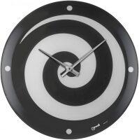 """Настенные часы  Lowell """"Spirale nero"""""""
