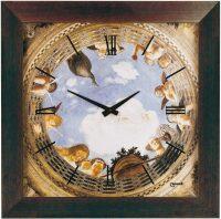 "Настенные часы  Lowell ""Camera degli sposi"""