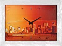 """Настенные часы  Lowell """"Megalopoli"""""""
