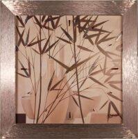 "Настенные часы  Lowell ""Pittura di Bambu"""