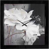 "Настенные часы  Lowell ""Bianchi Fiori"""