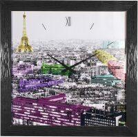 """Настенные часы  Lowell """"Eiffel Colours"""""""