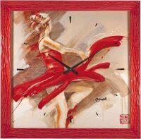 """Настенные часы  Lowell """"Lost in Motion"""""""