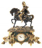 """Часы каминные """"Сарацин на коне"""""""
