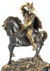 """Часы каминные """"Сарацин на коне""""- 2"""