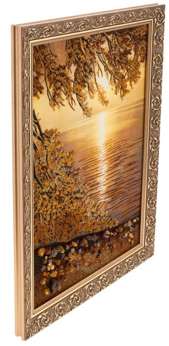 """Картина из янтаря """"Рассвет""""- 1"""