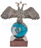 Двуглавый орел на шаре- 2