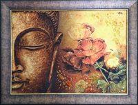 "Янтарная картина ""Будда"""