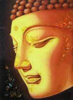 """Картина из янтаря """"Будда просветление"""""""