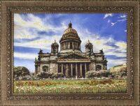 """Картина из янтаря """"Исаакиевский собор"""""""