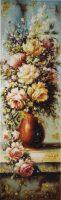 """Картина из янтаря """"Букет цветов"""""""