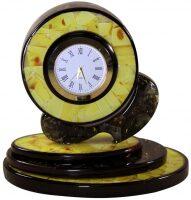Янтарные часы круглые