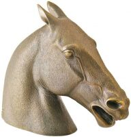 "Скульптура ""Голова лошади"""