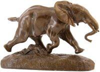 """Скульптура """"Бегущий слон"""""""