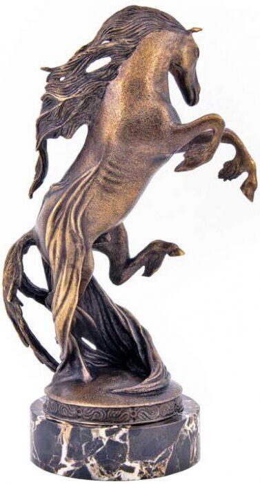 """Скульптура бронзовая """"Конь Пегас""""- 0"""
