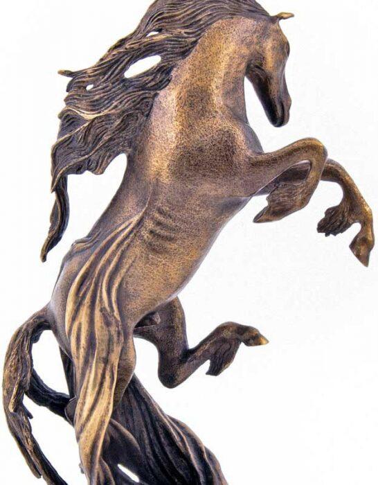"""Скульптура бронзовая """"Конь Пегас""""- 1"""