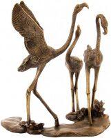 """Скульптура """"Фламинго на озере"""""""