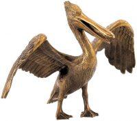 "Скульптура бронзовая ""Пеликан"""