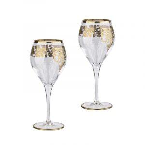 """Набор бокалов для белого вина  Same Decorazione """"Мираж""""  на 2 персоны"""