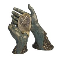 "Скульптура  Anglada ""Время течет"""