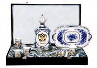 """Набор """"Подарочный"""" большой, с золотым изображением Орла"""
